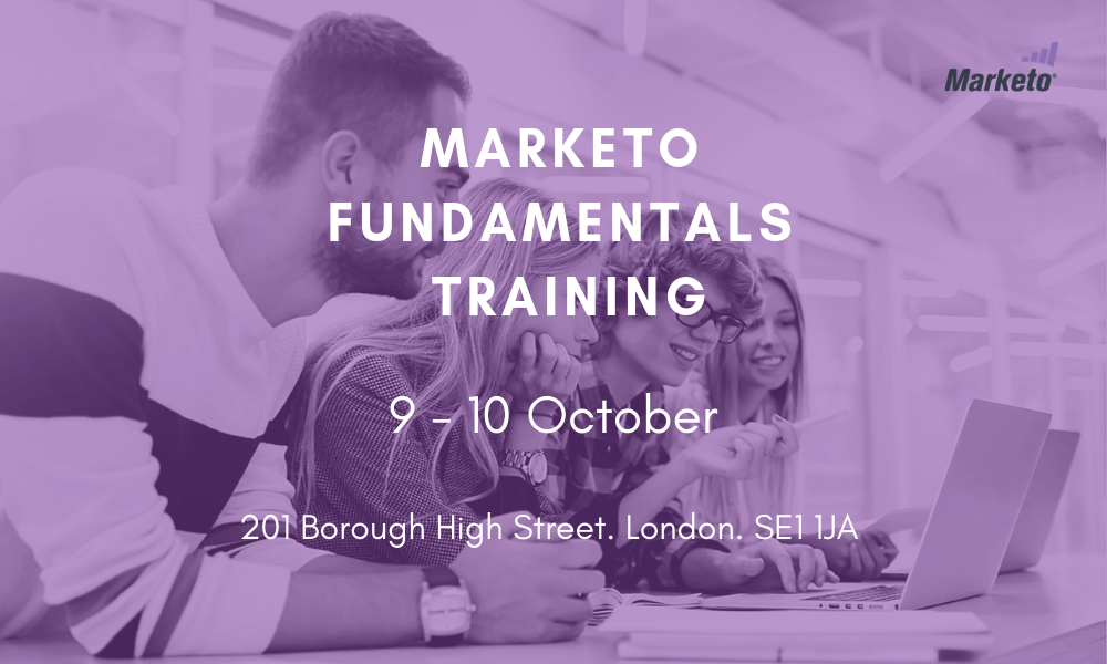 Marketo Fundamentals Training October