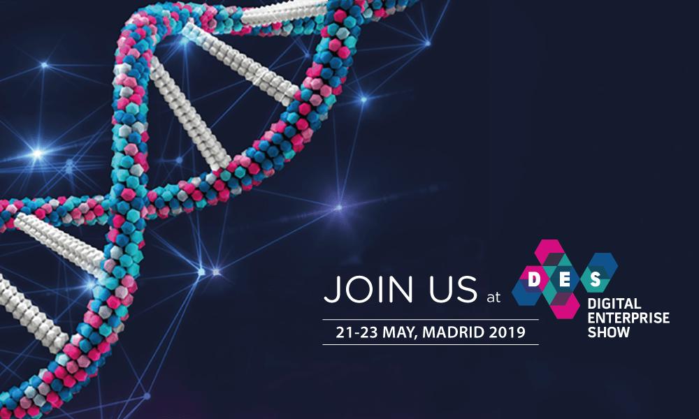 Invitation for Digital Enterprise Show Madrid 2019